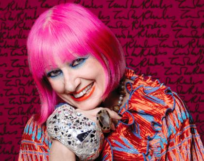 Zandra Rhodes – Η αποκρυπτογράφηση ενός fashion icon