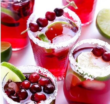 C for Cranberry Margarita