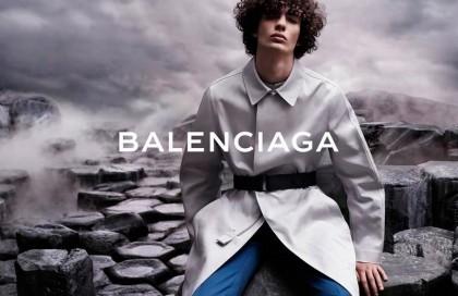 Η ανδρική συλλογή Balenciaga για πρώτη φορά στην πασαρέλα