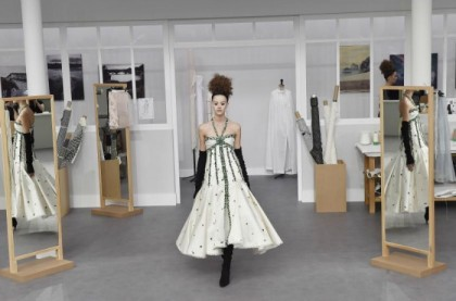 H Yψηλή Ραπτική της ημέρας από τον οίκο Chanel