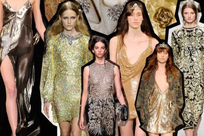 Shop Gold: Ρούχα για χρυσές εμφανίσεις