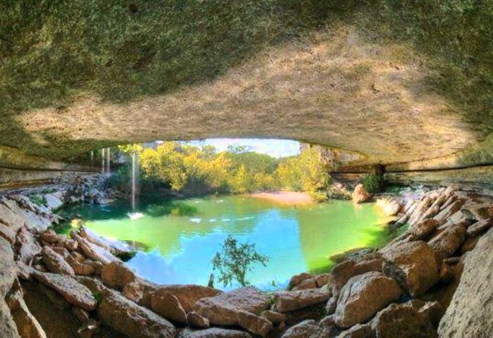 Η φυσική «πισίνα» του Τέξας