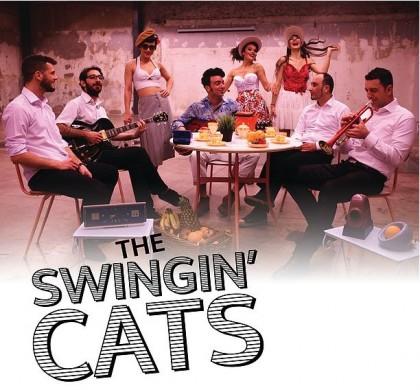 The Swingin' Cats «Jukebox Cinema» στο Gazarte Roof Stage
