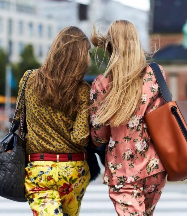 Εμπριμέ Παντελόνι: Φτιάχνοντας εύκολα το look της τάσης