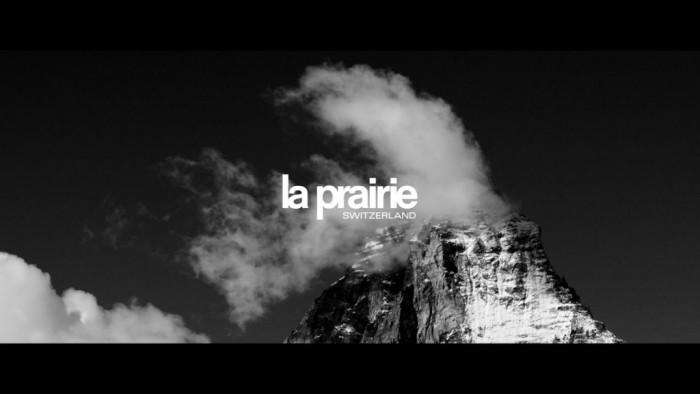Η La Prairie δημιουργεί μια ταινία διαχρονικής ομορφιάς στις Ελβετικές Άλπεις