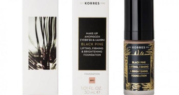 Η best-selling συλλογή αντιγήρανσης Korres Μαύρη Πεύκη επεκτείνεται τώρα και στο μακιγιάζ!