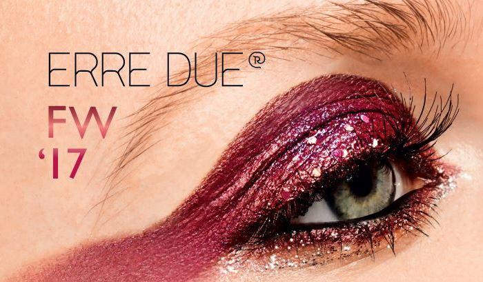 Η Erre Due αφηγείται μία super glam ιστορία μακιγιάζ για τον χειμώνα!